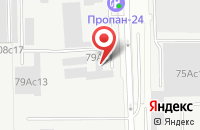 Схема проезда до компании Экономпласт в Москве