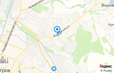 Местоположение на карте пункта техосмотра по адресу Московская обл, г Дмитров, ул Внуковская, д 72