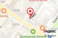 Схема проезда до компании Комус в Подольске