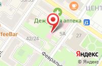 Схема проезда до компании Стоматологическая поликлиника в Подольске