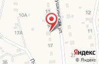 Схема проезда до компании Invisible в Плеханово