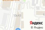 Схема проезда до компании Люксурия в Москве