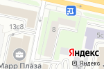 Схема проезда до компании Нотариус Поспелова Н.Н. в Москве