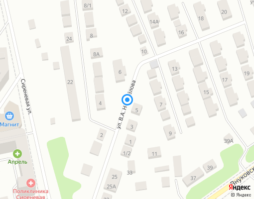 Товарищество собственников недвижимости «Дмитровское подворье» на карте Дмитрова