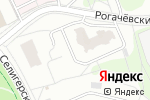 Схема проезда до компании АНСистем в Москве