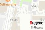 Схема проезда до компании Фьюжн в Москве