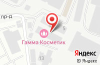 Схема проезда до компании Юнипластик в Подольске