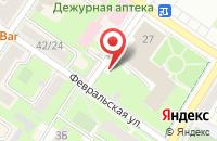Схема проезда до компании Для тебя в Подольске