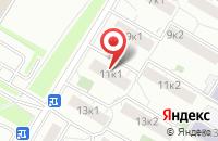 Схема проезда до компании СтарТрейд в Москве