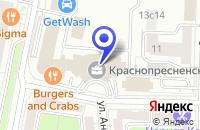 Схема проезда до компании ТФ МАРЭЙ в Звенигороде