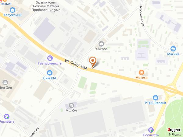 Остановка Ул. Введенского в Москве