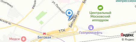 Evert на карте Москвы