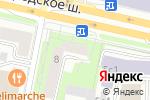 Схема проезда до компании Ювелирная мастерская на Звенигородском шоссе в Москве