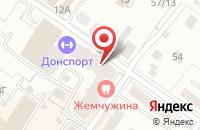 Схема проезда до компании Баттерфляй-М в Подольске