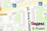 Схема проезда до компании Окна-ремонт-сервис в Москве
