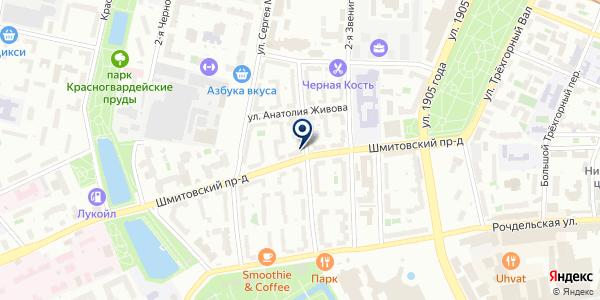 ГЛАВРЫБСБЫТ на карте Москве