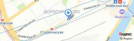 ПСК-12 на карте Москвы