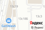 Схема проезда до компании FaceControl в Москве