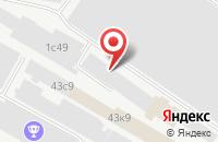 Схема проезда до компании ИНТЕХ СК в Подольске
