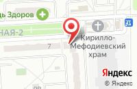 Схема проезда до компании IML в Подольске
