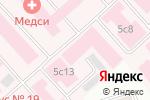 Схема проезда до компании Городская клиническая больница им. С.П. Боткина в Москве