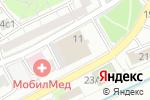 Схема проезда до компании Интерконтакт-Т в Москве