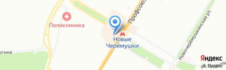 Вафлемания на карте Москвы