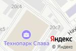 Схема проезда до компании Hemacore в Москве