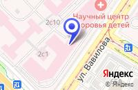 Схема проезда до компании КОНСУЛЬТАТИВНО-ДИАГНОСТИЧЕСКИЙ ЦЕНТР в Москве