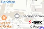 Схема проезда до компании Акм-Вест в Москве