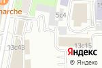 Схема проезда до компании Funk Flowers в Москве