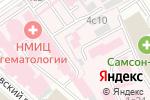 Схема проезда до компании Соцмедгрупп в Москве