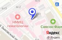 Схема проезда до компании НАУЧНО-ТЕХНИЧЕСКИЙ ЦЕНТР ВЫМПЕЛ в Москве