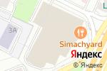 Схема проезда до компании МЕТРИУМ-Жилая Недвижимость на Рублевке в Москве