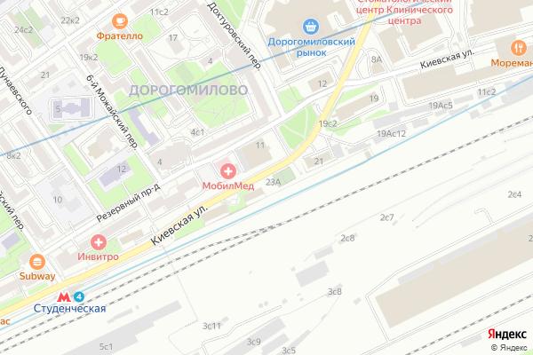Ремонт телевизоров Район Дорогомилово на яндекс карте