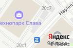 Схема проезда до компании Слава в Москве
