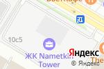 Схема проезда до компании Udovichenko Moscow в Москве
