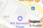 Схема проезда до компании SunВerry в Москве