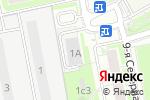 Схема проезда до компании Телеком-Комплект в Москве