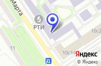 Схема проезда до компании ТФ НЕРП в Москве