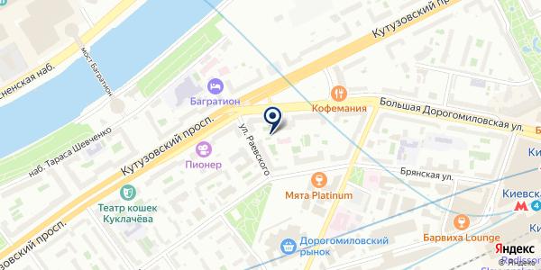 САЛОН КРАСОТЫ АРТ-ВИТО на карте Москве
