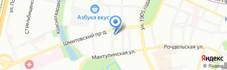 Андрей Студенецкий и партнеры на карте Москвы