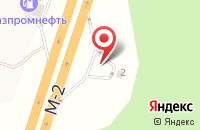 Схема проезда до компании АЗС Газпромнефть в Львовском