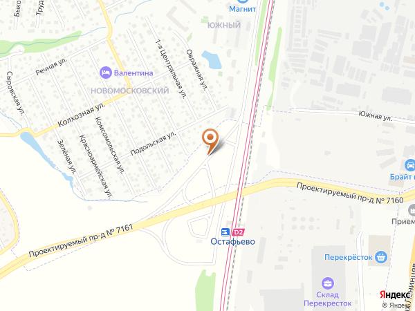 Остановка «Ст. МЦД Остафьево», Заводская улица (1008849) (Москва)