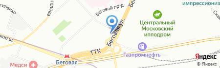 Попов и партнёры на карте Москвы