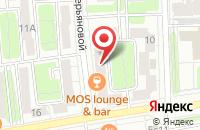 Схема проезда до компании Ровани в Москве