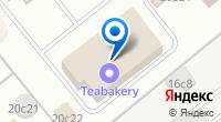 Компания Toyota на Бережковской на карте