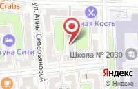Схема проезда до компании Магнер в Москве