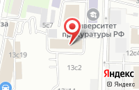 Схема проезда до компании Авианова в Москве