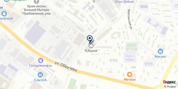Орион на карте Москве
